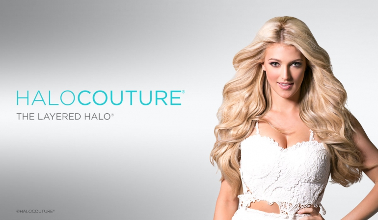 Wigs by HaloCouture Layered Halo