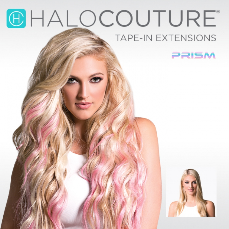 Wigs by HaloCouture Prism Tape-In Extensions