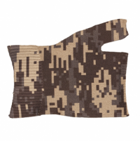 LympheDivas Specialty Print Patterns Compression Gauntlet Military Camouflage