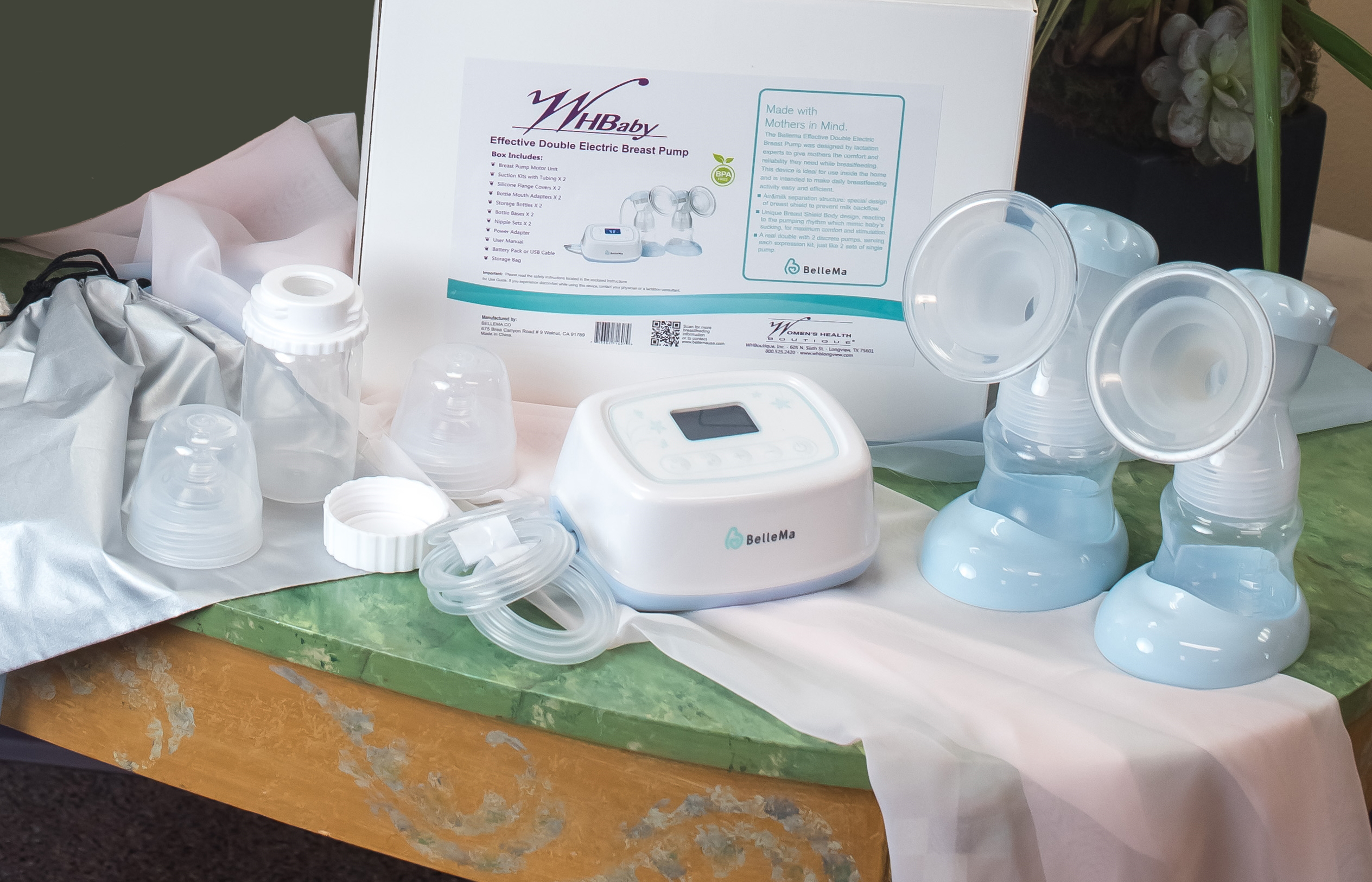 WHBaby Breast Pump